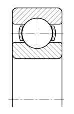 Подшипник 319 (6319) размер 95x200x45