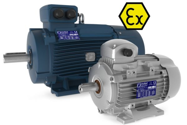 Электродвигатели ATEX взрывозащищенные