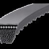 Ремни клиновые узкопрофильные с открытыми боковыми гранями и фасонным зубом