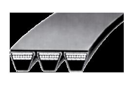Многоручьевые ремни для передачи боьшой мощности (не требуют техобслуживания)
